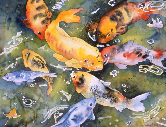 17 best images about koi on pinterest koi art japanese for Japan koi fish pond