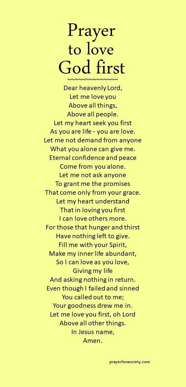 Loving you First. Amen. Mildred Williams