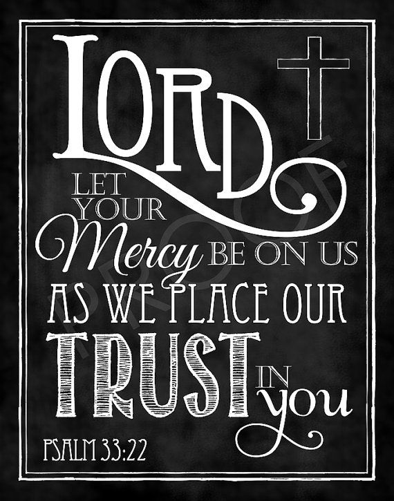 Scripture Art  Psalm 3322 Chalkboard Style by ToSuchAsTheseDesigns, $15.00