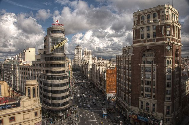 """Gran Vía (Madrid)"" by felipe_gabaldon"
