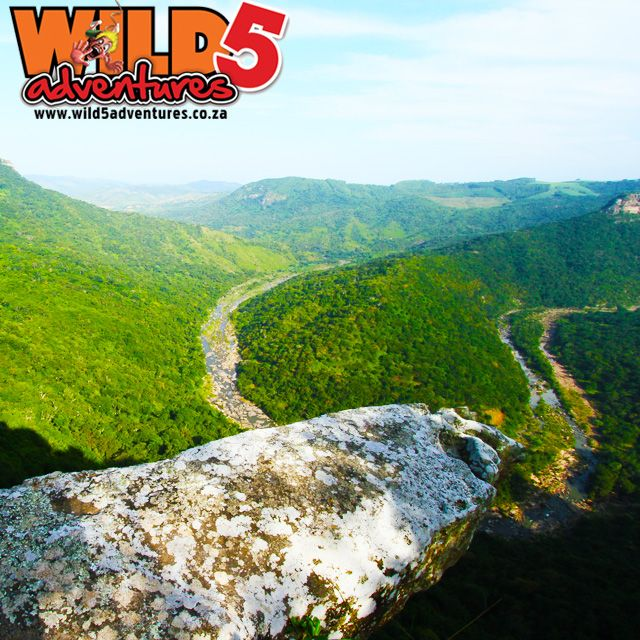 One of my favorite view spots has got to be the overhanging rock. What an incredible view #Wild5Gorge #overhangingrock