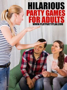 These five funny party games are perfect for adults, for teens, or even for a women only party! They're perfect for an indoor family night, a college game night without drinking, a birthday party, or change up the words and use them for a large group at a bachelorette party. I can't wait to try #2!