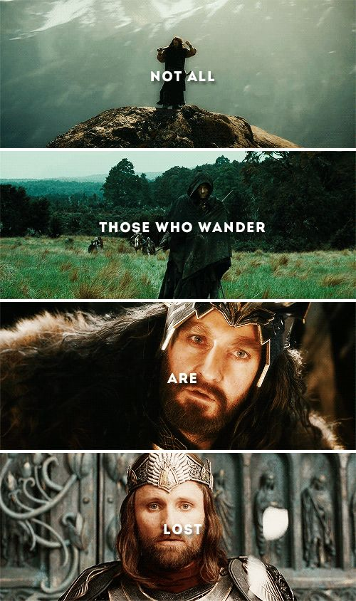 the crownless again shall be king  #lotr #thehobbit
