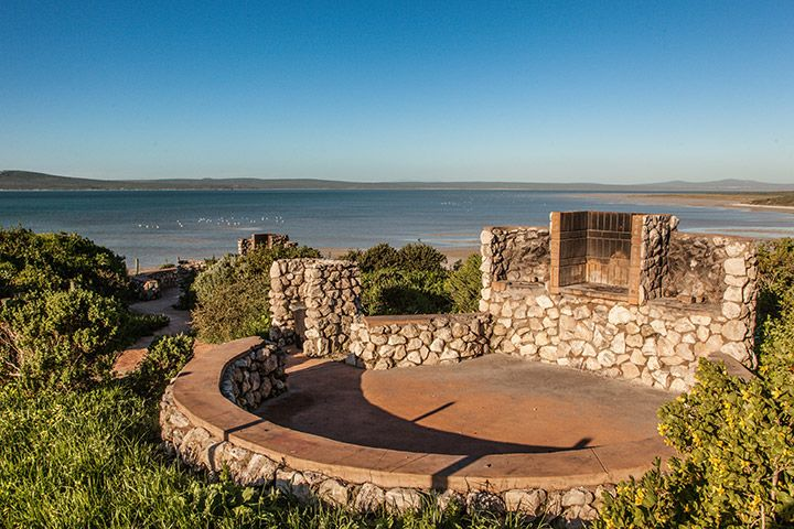 Braai spots at Kraalbaai in the West Coast National Park.
