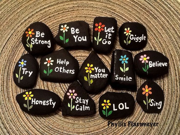 Rock Painting Ideas {Easy Ideas for Painting Creative Rocks}
