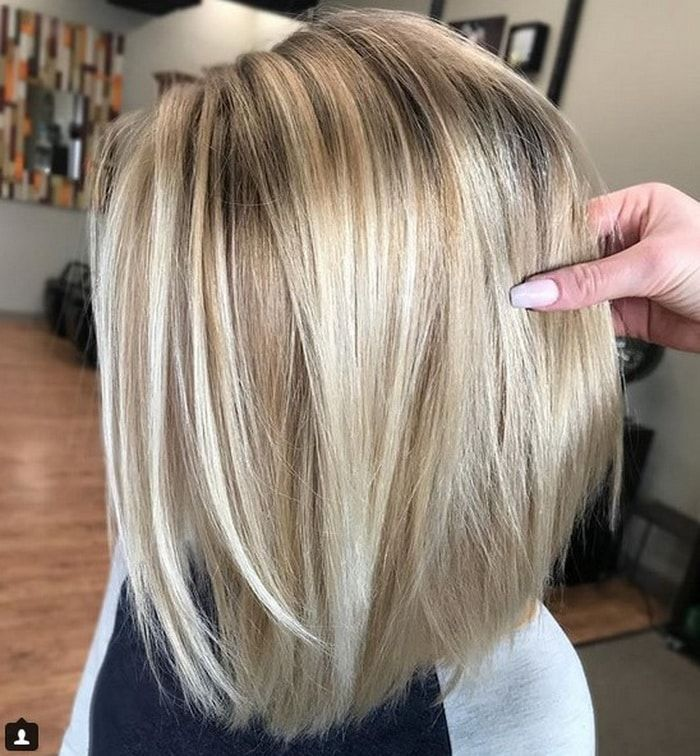 Lighter Blonde Bayalage Hair Color 2018 2019 With Darker