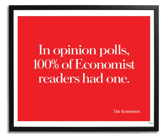 It's been twenty years since the first poster was created, but The Economist's iconic White out of Red ad campaign is now available to buy as a series of limited edition screen prints.
