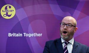 Paul Nuttall launches the Ukip manifesto.