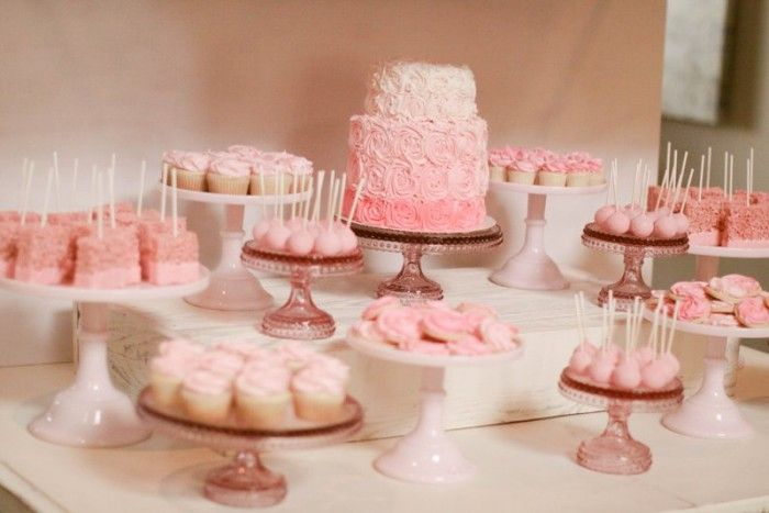 Bake Shop Baby Shower Dessert Table | Jenny Cookies