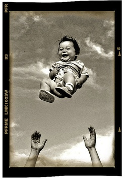 this is what my baby will look like...except i probably wont be able to throw it up in the air cuz itll be so chub: Life, Happines, Inspiration, Quotes, Happy, Joy, Smile, U.S. States