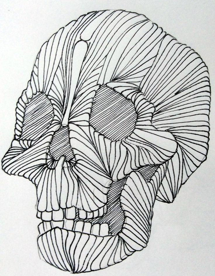 Skull by MatthewDHoffman