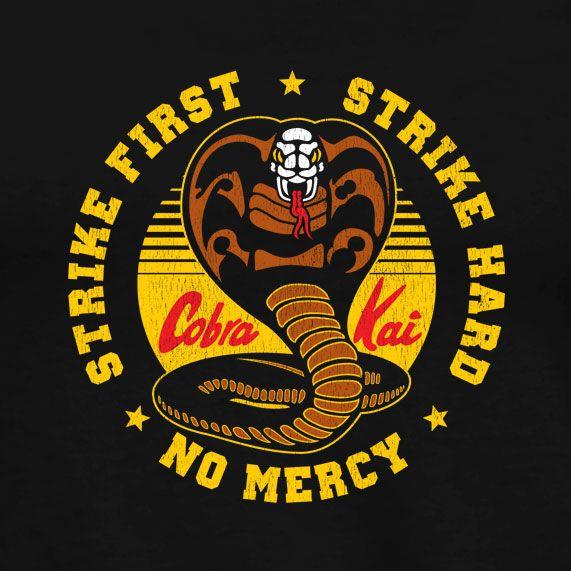 Cobra Kai T Shirt Inspired By The Karate Kid Regular T Shirt