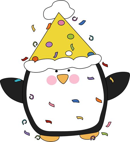 Party Penguin Clip Art - Party Penguin Image http://www.mycutegraphics.com/