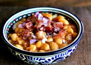 ✅ Stove-top Baked Beans   (I don't even like beans but these are delicious!)
