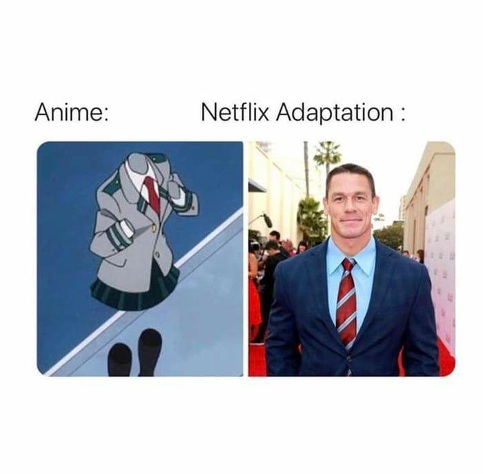 So Whats The Netflix Adaptation Anime Funny Funny Memes Funny
