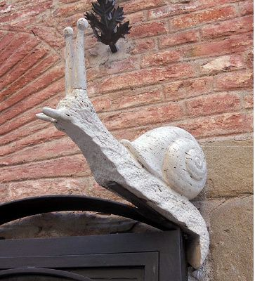 Contrada della Chiocciola (snail)