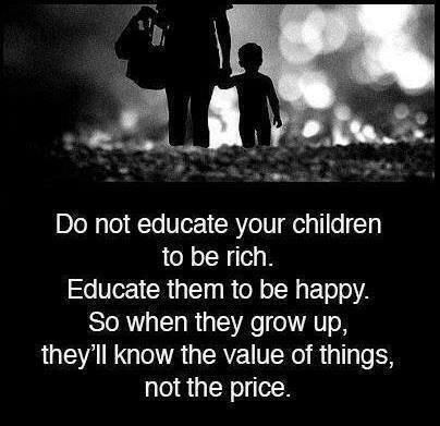 De waarde van dingen.