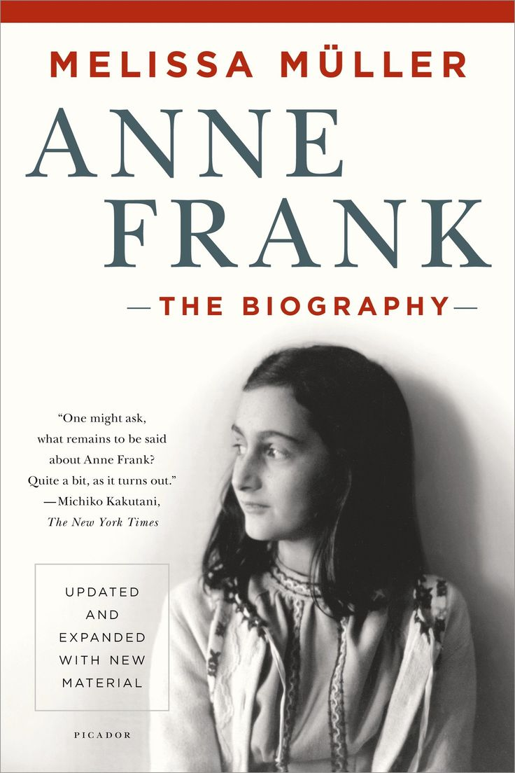 Anne Frank: The Biography: Melissa Müller: 9781250050151: Amazon ...