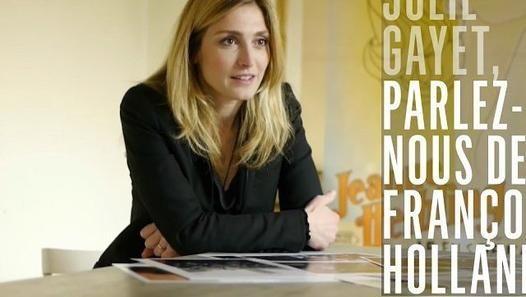 Julie Gayet  ♥ François Hollande  lol