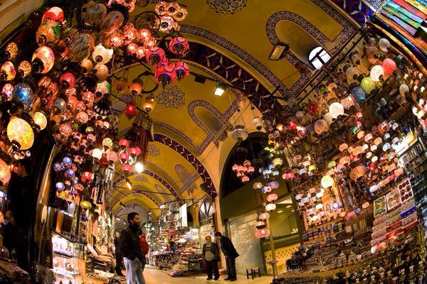 #Istanbul / The Grand Bazaar  is the most visited touristic spot of the world, with 91 million visitors every year.