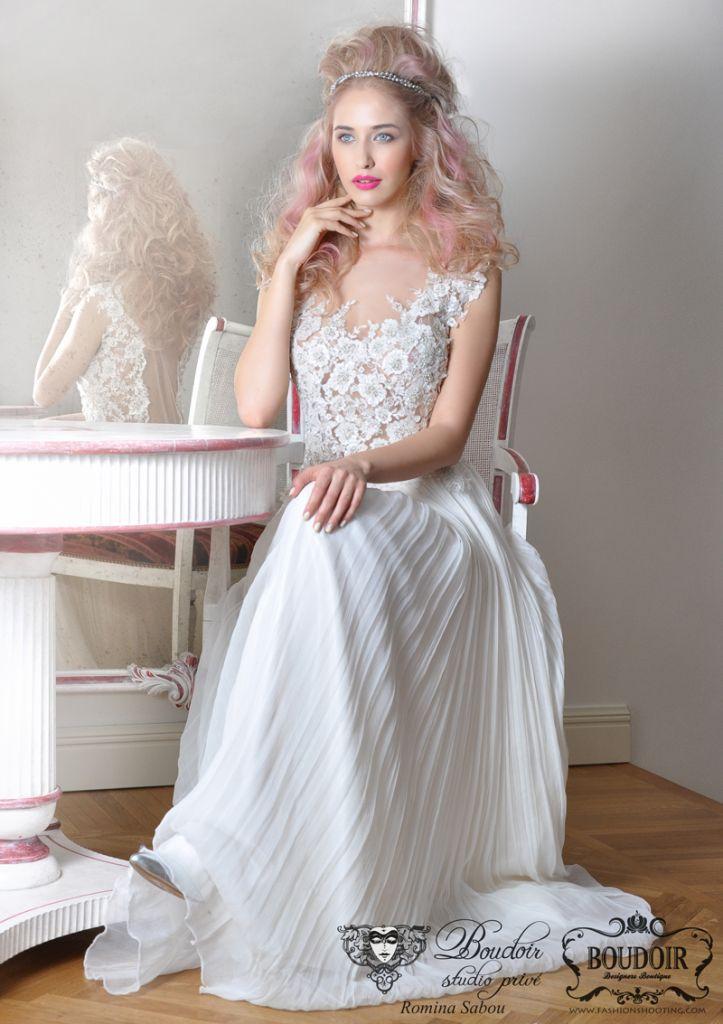 Blond Rose 2014 Wild Bride #bridalhair #weddinghair #bride #wedding #hairstyle #blond
