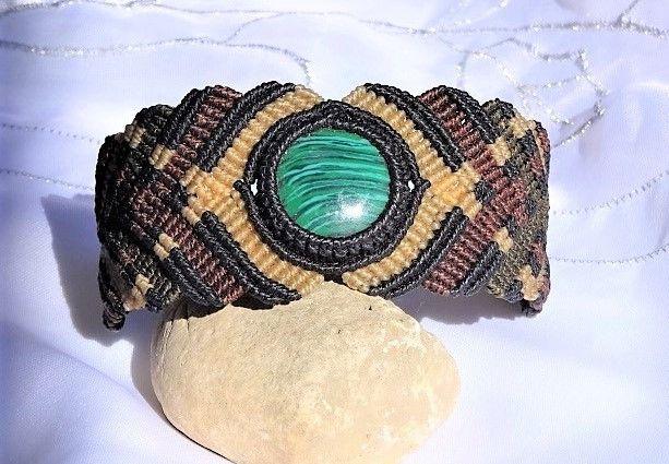 Armbänder - Armband mit Malachit - ein Designerstück von Sunnseitn bei DaWanda
