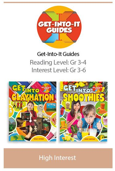2 NEW TITLES! Get-Into-It Guides are designed to empower and encourage young people to explore their interests, develop passions, and build skills. This well-crafted, high-interest series includes a diverse selection of popular games, arts, and activities. Each title includes custom how-to photos and clear, step-by-step instructions to help readers learn essential skills and techniques.
