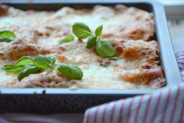 FODMAP Lasagne -