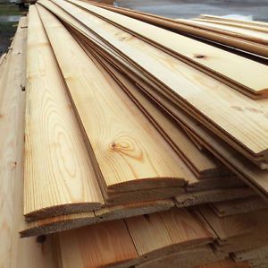 £1 per meter T+G LOGLAP *A* Grade Timber Cladding Scandinavian redwood