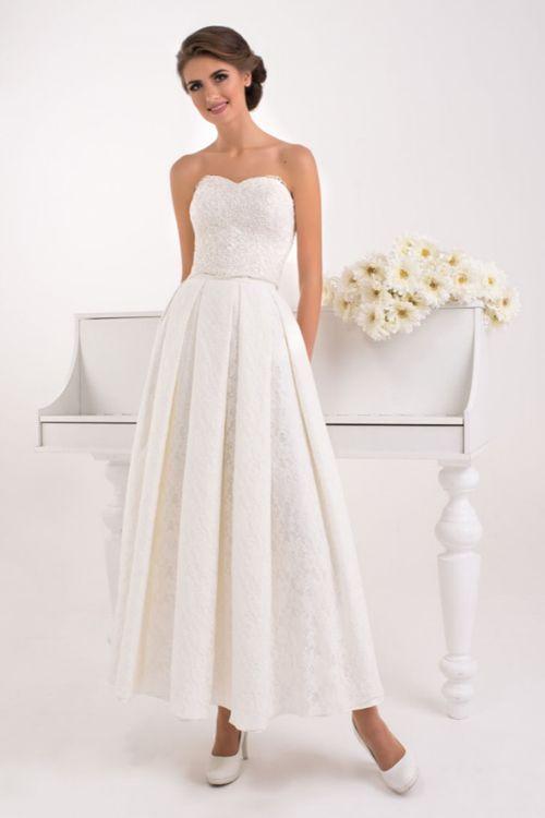 Svadobné šaty korzet so sukňou