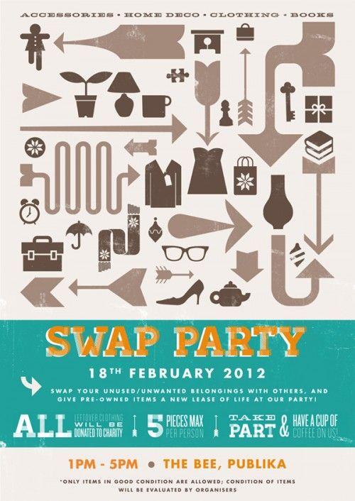 Swap Party @ The Bee Publika | KinkyBlueFairy