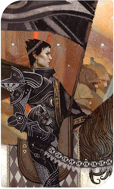 """Death (Cassandra) ___________ Tarot Cards from """"Dragon Age : Inquisition"""""""