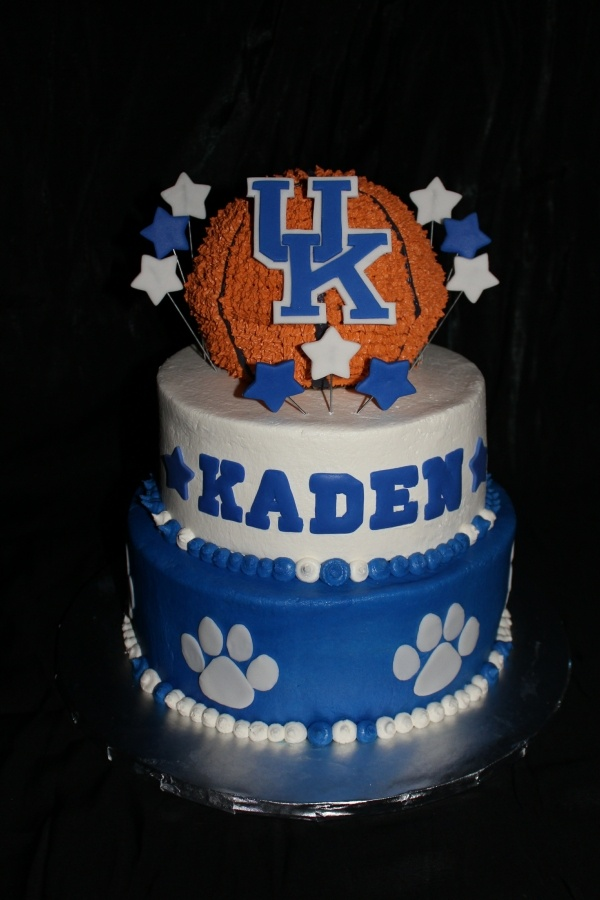 Kentucky Basketball Cake Google Search Cakes And