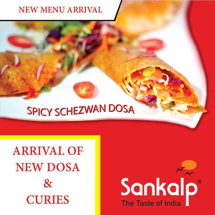 After hearing lot of suggestions and Demands, We are launching our new Menu. Visit Sankalp and Try all new Dosas and Curies and Dont forget to give your valuable feedback.  #NewMenu #SchezwanDosa #Sankalp #Sydney #Yummy #Curies #TasteOfIndia