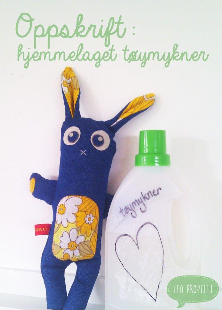 Hjemmelaget tøymykner er best for klærne! www.leopropelli.no/eddik-redder-syprosjektene-dine/