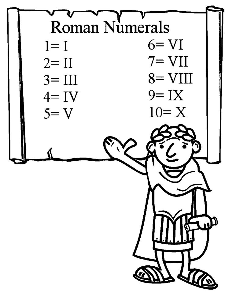 coloring pages on ancient rome - photo#7