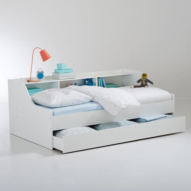 Merveilleux Lit Simple Avec Lit Gigogne #4: Bed With Drawers, Sofa Beds, Benches, Palm, Ranger, Ajouter, Ainsi, Crib.  Lit 1 Personne Avec ...