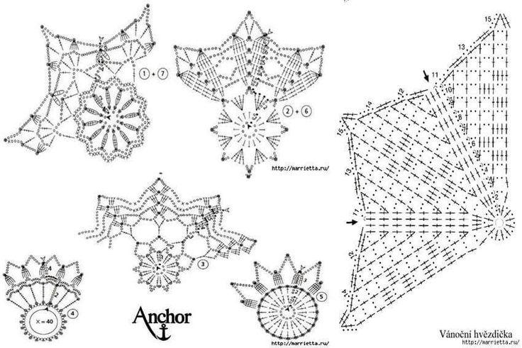 Las mejores Más de 75 imágenes de Crochet Noël en Pinterest ...