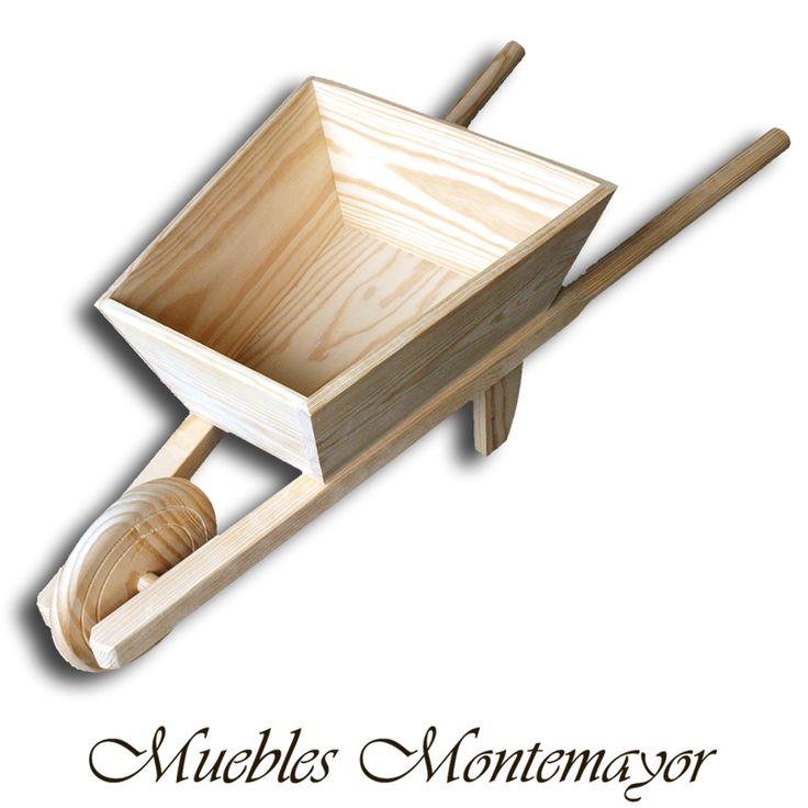 Carretilla Infantil 24,25 € #madera #infantil #juguetes