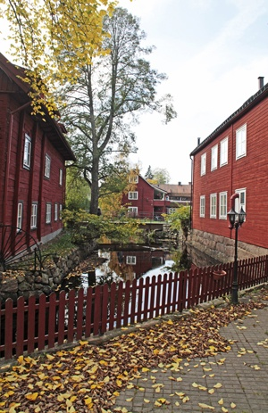 """Eksjö and the Old Town have been awarded the internationally recognised Europa Nostra Diploma 1997. This prestigious honour is a reward for good architectural and cultural preservation. In the citation it says that the Old Town in Eksjö receives the award """"for the remarkable renovation of this important ensemble of traditional wooden buildnings which has given new life to the old town centre"""""""