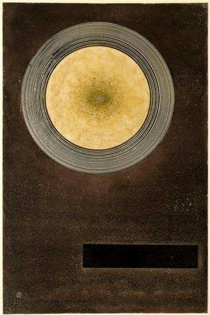 Wassily Kandinsky Elementare Wirkung, 1924
