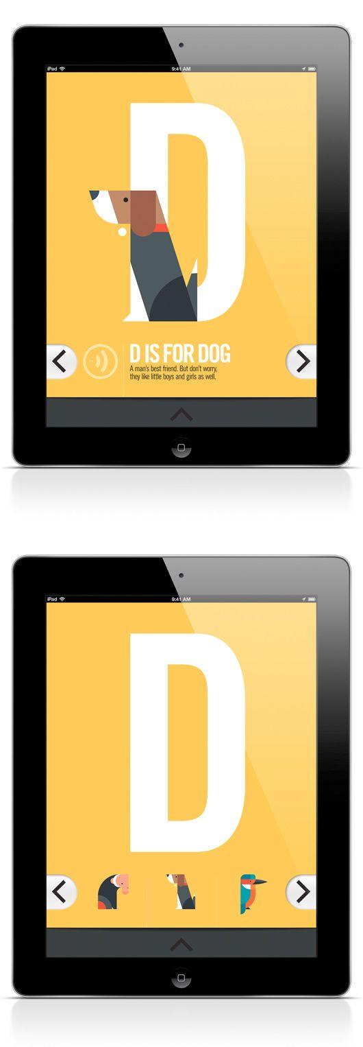 ABC iPad App by Bart De Keyzer