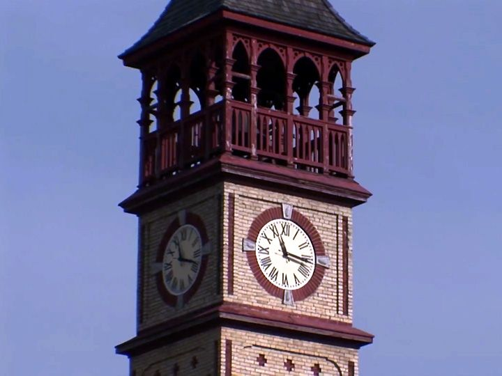 Clock Tower, Exeter Ontario Town Hall, constructed in 1887