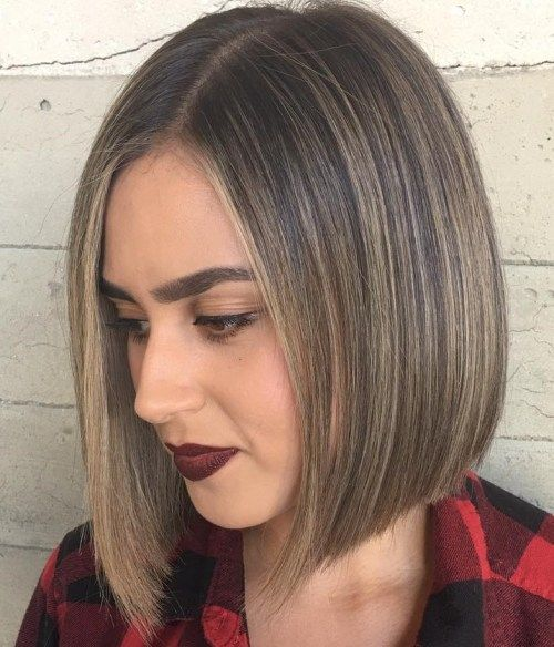 Bob hairstyles are not generally layered yet just a ...