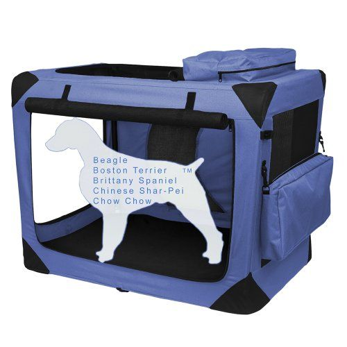 Pet Gear Generation II Deluxe Portable Soft Crate for cats and dogs up to 50-pounds, Light Lavender - http://www.thepuppy.org/pet-gear-generation-ii-deluxe-portable-soft-crate-for-cats-and-dogs-up-to-50-pounds-light-lavender/