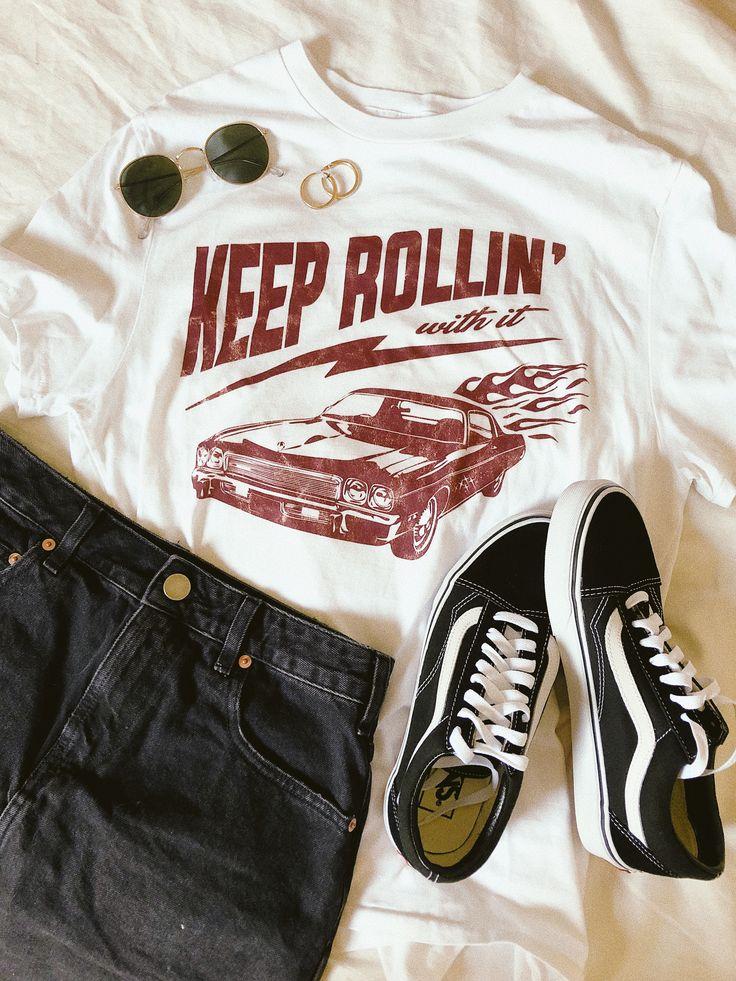 Keep Rollin' Tee