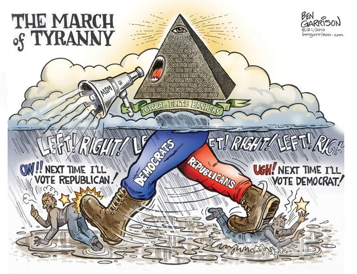 Ben Garrison: The March of Tyranny