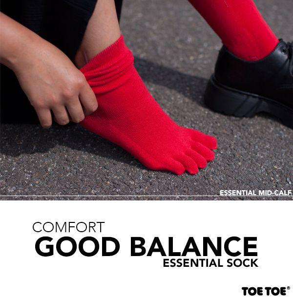 Essential Sock #TOETOE #TOETOESocks #essential #HappySocks #SocksUK