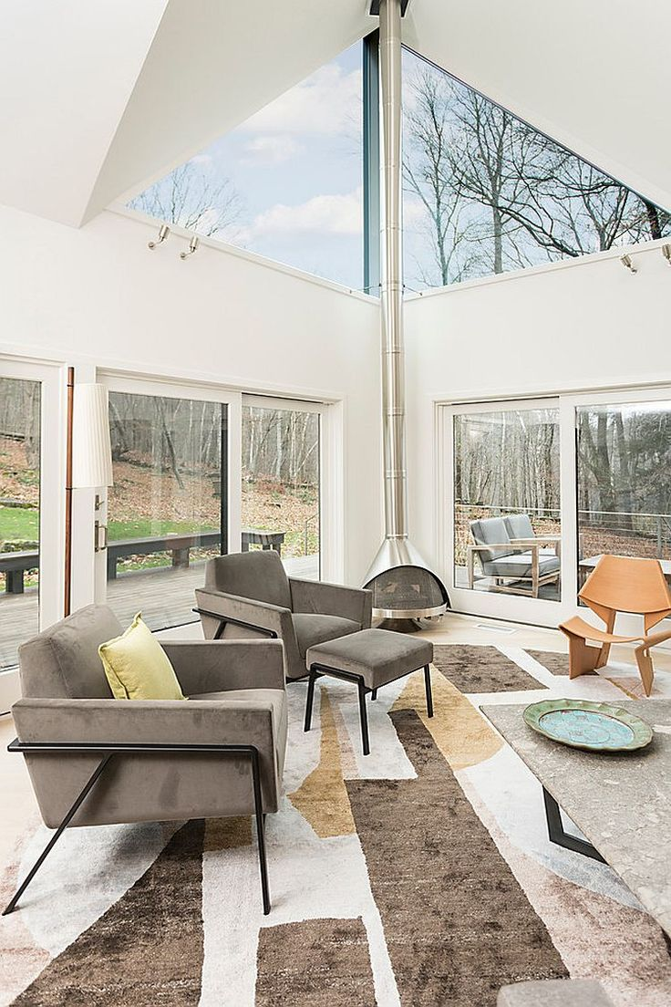 Scandinavian Sunrooms Contemporary Decor Open