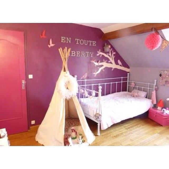 8 best chambre petite fille liberty images on pinterest. Black Bedroom Furniture Sets. Home Design Ideas